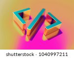 colourful code icon on candy... | Shutterstock . vector #1040997211