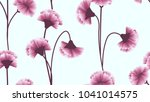 seamless pattern  pink... | Shutterstock .eps vector #1041014575