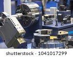 industry 4.0 robot concept .the ... | Shutterstock . vector #1041017299