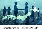 business of japan concept. | Shutterstock . vector #1041021034