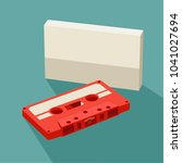 cassette retro style   Shutterstock .eps vector #1041027694