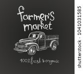Hand Drawn Farmer's Market...