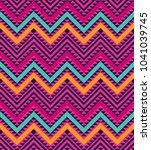 vector geometric background.... | Shutterstock .eps vector #1041039745