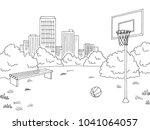 Street Sport Basketball Graphic ...