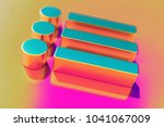 colourful list icon on candy...
