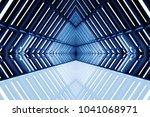 design of architecture metal... | Shutterstock . vector #1041068971