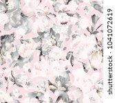 watercolor seamless pattern of... | Shutterstock . vector #1041072619