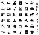 flat vector icon set   scraper... | Shutterstock .eps vector #1041078751