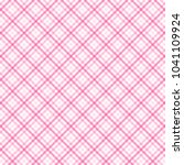 tartan vector patterns  pink ... | Shutterstock .eps vector #1041109924