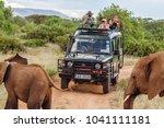 masai mara  kenya  may 19 ... | Shutterstock . vector #1041111181