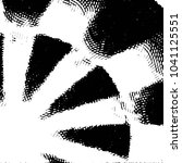 grunge halftone black and white ... | Shutterstock .eps vector #1041125551