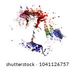 vector color illustration of... | Shutterstock .eps vector #1041126757
