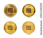 options circular vector gold...   Shutterstock .eps vector #1041150259