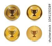 cup circular vector gold web...   Shutterstock .eps vector #1041150289