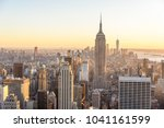 new york city   usa. view to... | Shutterstock . vector #1041161599