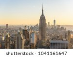 new york city   usa. view to... | Shutterstock . vector #1041161647