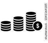 coin money icon  finance icon... | Shutterstock .eps vector #1041164185