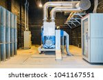 standby power generator or... | Shutterstock . vector #1041167551