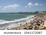 cadiz  spain   july 3  2011 ... | Shutterstock . vector #1041172087