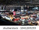 geneva  switzerland   mar 6 ... | Shutterstock . vector #1041205255