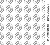 seamless geometric ornamental... | Shutterstock .eps vector #1041206377