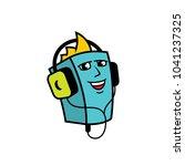 audiobook abstract sign   Shutterstock . vector #1041237325