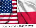 united states of america flag... | Shutterstock . vector #1041239077