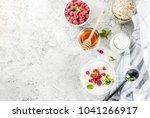 raw ingredients for summer... | Shutterstock . vector #1041266917