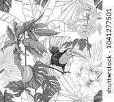 seamless pattern  background... | Shutterstock .eps vector #1041277501