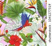 seamless pattern  background... | Shutterstock .eps vector #1041277519