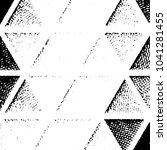 grunge halftone black and white ... | Shutterstock .eps vector #1041281455