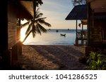 beautiful sunset sky hadd sai...   Shutterstock . vector #1041286525