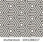 vector seamless pattern. modern ... | Shutterstock .eps vector #1041288217