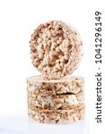 diet rice cakes pile with...   Shutterstock . vector #1041296149