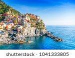 view on manarola  cinque terre | Shutterstock . vector #1041333805