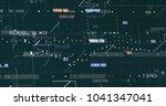 abstract digital data... | Shutterstock . vector #1041347041