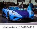 geneva  switzerland   march 6 ... | Shutterstock . vector #1041384415