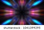 3d futuristic abstract business ... | Shutterstock . vector #1041399295