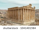 bacchus temple at the roman... | Shutterstock . vector #1041401584