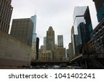 skyline chicago usa | Shutterstock . vector #1041402241