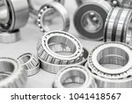 high precision machine parts... | Shutterstock . vector #1041418567