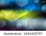 abstract colorful technology... | Shutterstock .eps vector #1041425797