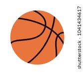 basketball ball isolated   Shutterstock .eps vector #1041434617
