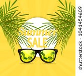 summer sale design template... | Shutterstock .eps vector #1041454609