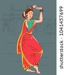 vector design of woman... | Shutterstock .eps vector #1041457699