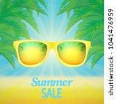 summer sale banner | Shutterstock .eps vector #1041476959