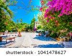 kos island  greece   june 02 ... | Shutterstock . vector #1041478627