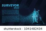 surveyor of the particles.... | Shutterstock .eps vector #1041482434
