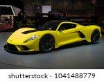 geneva  switzerland   march 7 ... | Shutterstock . vector #1041488779