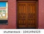 interesting doorway entrys | Shutterstock . vector #1041496525